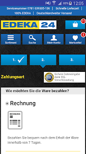EDEKA24 | Online-Supermarkt screenshot 3