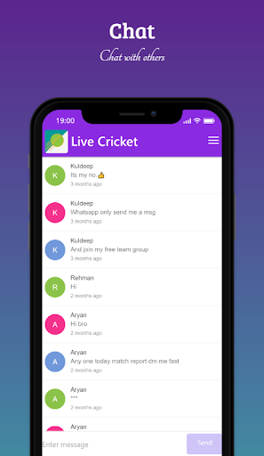Live Cricket screenshot 4