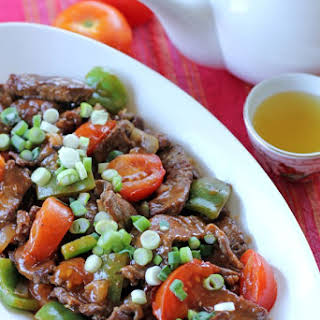 Chinese Beef and Tomatoes.