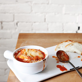 French Tomato Soup with Gruyere Recipe