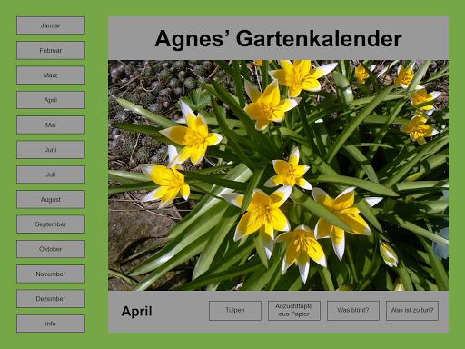 Agnes Pahler: Gartenkalender