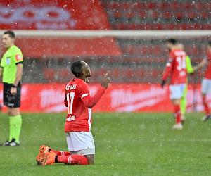 """Jackson Muleka n'oublie pas les supporters après son but victorieux lors du choc wallon : """"Une belle victoire pour le peuple liégeois"""""""