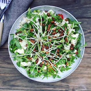 Crunchy Cauliflower Salad – Perfect Side Dish For Lamb.