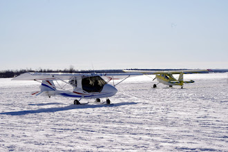 Photo: Challenger C-IPRC with Champion C-FTSP