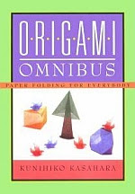 Photo: Origami Omnibus Kasahara, Kunihiko,  Kodansha International;  ISBN: 4817090014 ; Japan Publications, 1998  Dimensions (in inches): 1.10 x 9.97 x 7.13