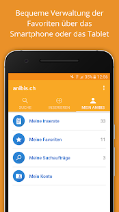 anibis.ch – free classifieds- screenshot thumbnail