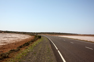 Photo: Year 2 Day 221 - The Road Between the Salt Lakes