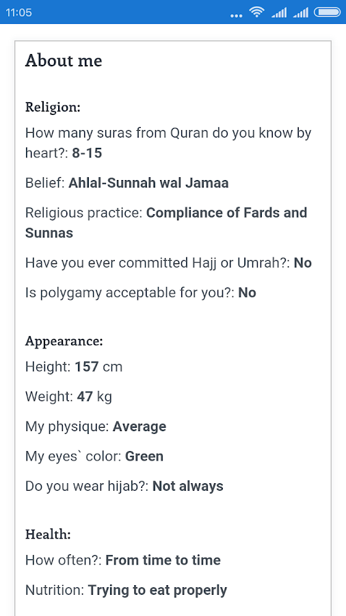 Muslim dating for nikah- screenshot