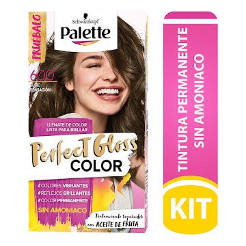 Tinte Palette Perfect   Gloss Color Rubio Sensacion N° 600 X 1und Sin