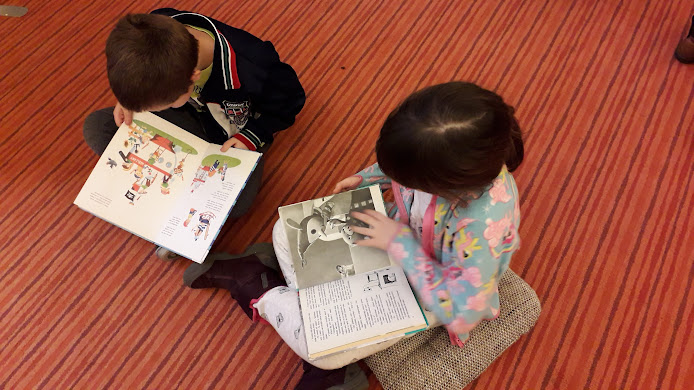 Olvasó gyerekek