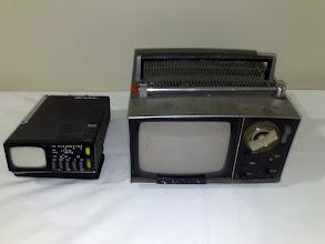 Photo: Sinclair TV (World's smallest), Sony TV (pretty small too and fairly rare)