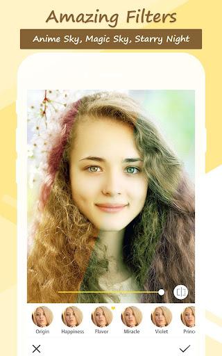 Candy selfie - photo editor, live filter camera 2.75.772 screenshots 1