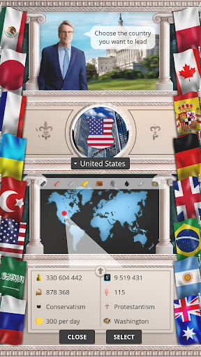 Modern Age u2013 President Simulator 1.0.43 screenshots 6