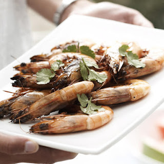 Grilled Ginger Shrimp.