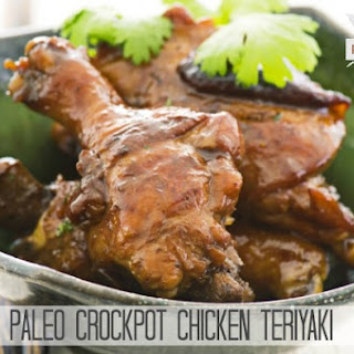 Paleo Crockpot Chicken Teriyaki.