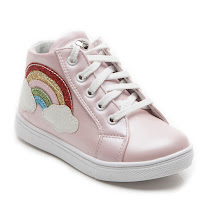 Step2wo Rainbow - High Top Trainer BOOT