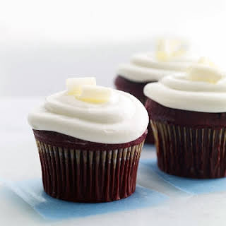 Red Wine Cupcakes with Cream Cheese Frosting.