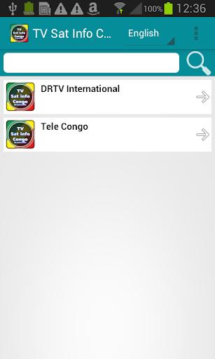 卫星电视信息刚果(布)