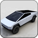 Crazy Car Driving & City Stunts: CYBERTRUCK icon