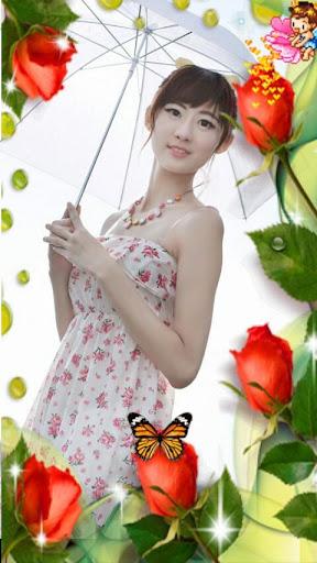 玫瑰花相册