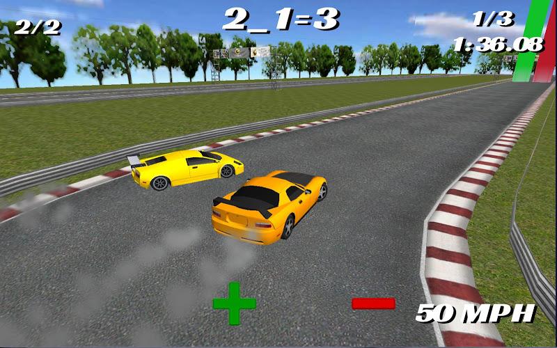Скриншот Math Racer