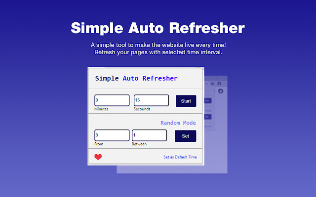 Simple Auto Refresher