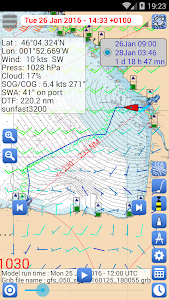 Weather - Routing - Navigation screenshot 1