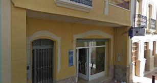 Fachada del despacho receptor de Alhama donde se ha vendido uno de los dos cuartos premios.