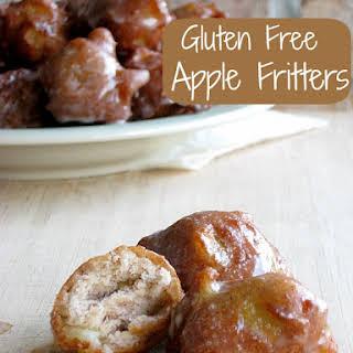 Apple Fritters Gluten Free.