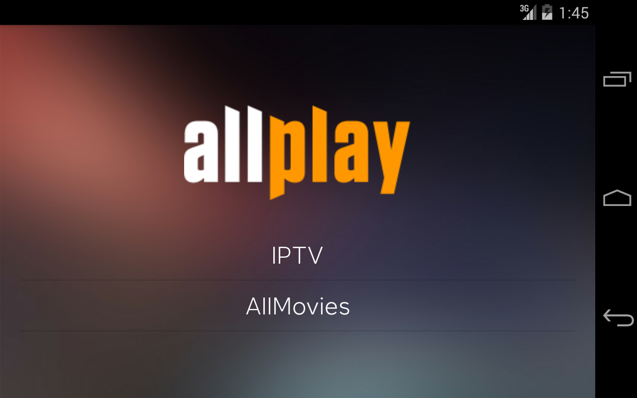 Allplay- screenshot