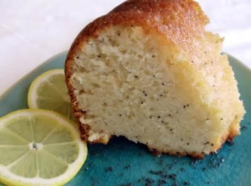 "Lemon Poppy Seed Cake ""My Goodness. The cake is so good; so..."