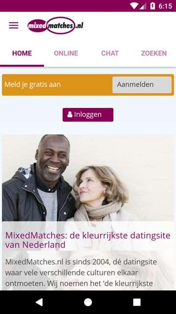 MixedMatches.nl- screenshot