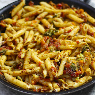 Fire Roasted Tomato Penne Pasta.