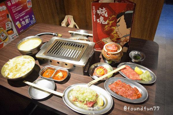 大阪燒肉燒魂Yakikon林森本店桌邊服務輕鬆吃烤肉!純正日本燒肉專門店/中山站美食
