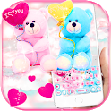 Love Teddy Bear Keyboard Theme Sweet Love icon
