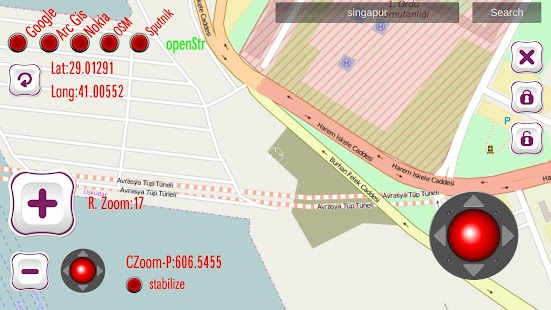 Military Map Surf plus TRAFFIC screenshot