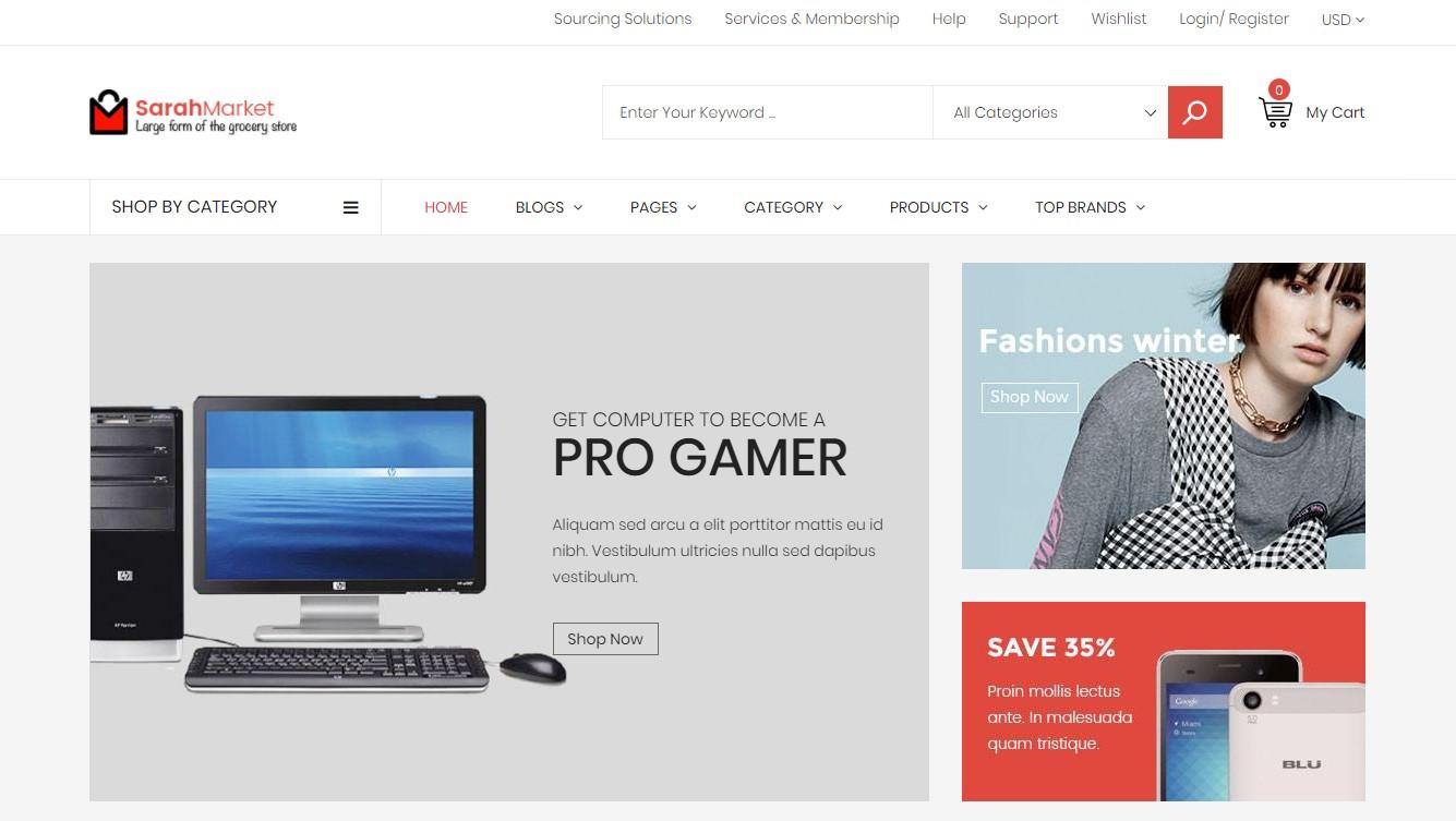 Shopify electronics themes