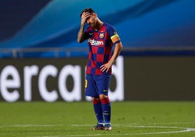 """Lionel Messi s'explique: """"Ce que j'ai fait, c'était pour le bien du FC Barcelone"""""""