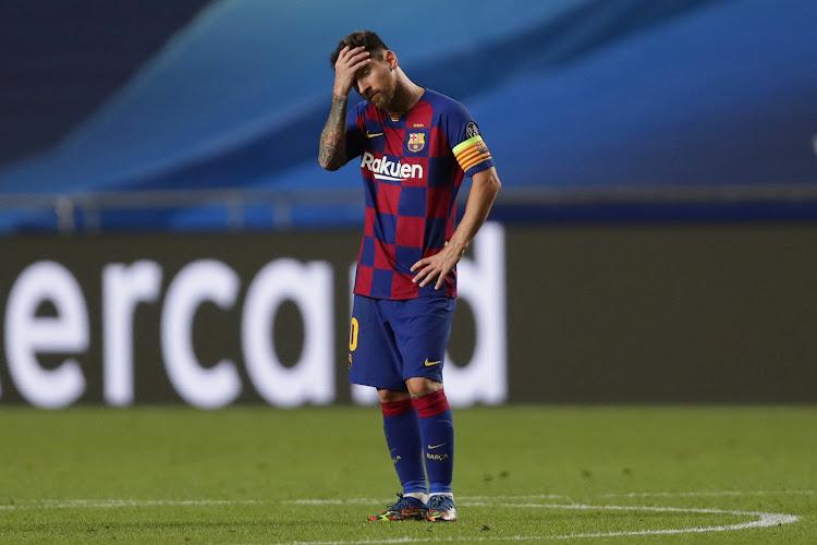 Le Barça devrait payer une amende pour l'hommage de Messi à Maradona