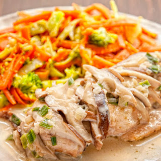 Chicken With Mushroom Cream Sauce Recipe