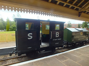 Photo: 014 The goods train brakevan, which was usually seen throughout the day with 7 or 8 happy passengers crammed into it !