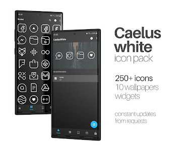 Caelus White - Icon Pack 1.0 (Patched)