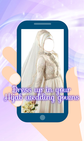 android Hijab Wedding Montage Maker Screenshot 0