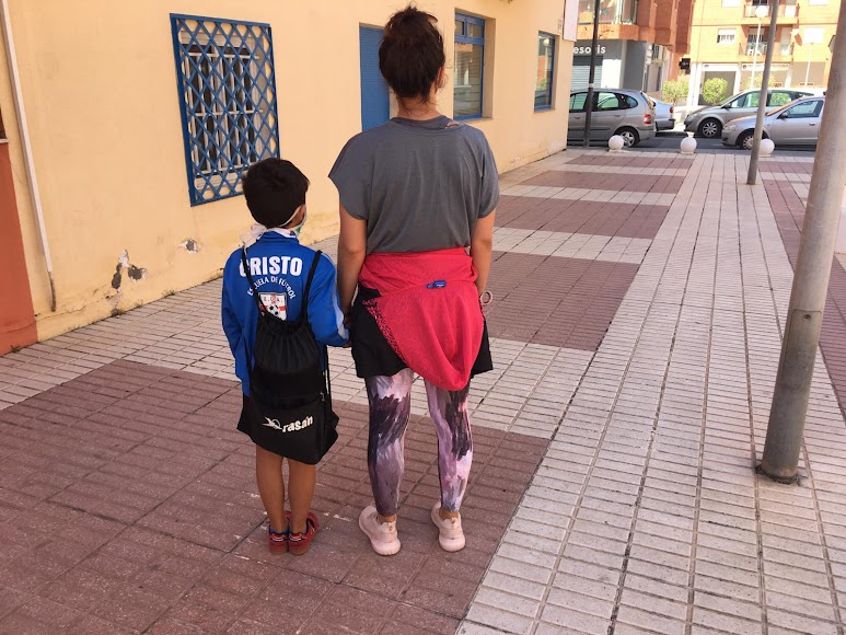 Listos para dar un paseo por Almería.