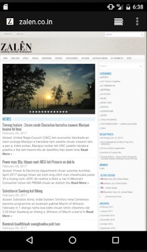 News Portal Mizoram 1.1 screenshots 3