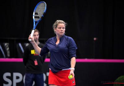 """Geen wildcard voor Roland Garros en wellicht einde seizoen voor Kim Clijsters: """"Trainen en lunchmaaltijden maken"""""""