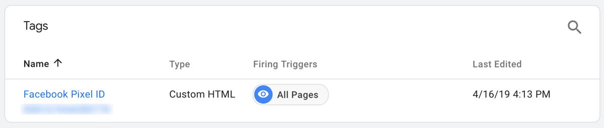 điều hướng đến Google Tag Manager