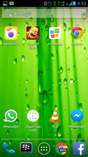Tema Transparan Android