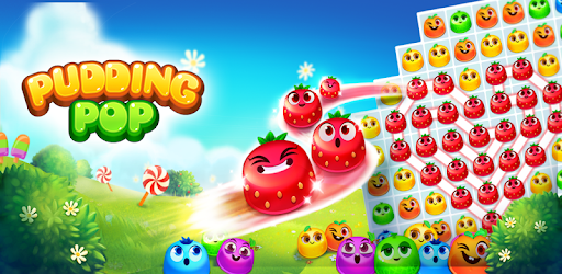 Match the colorful pudding blob! Start your magic pudding popping adventure!
