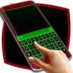 Green Neon Keyboard